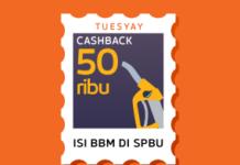 cashback isi bbm