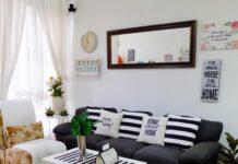 mendesain ruang tamu minimalis